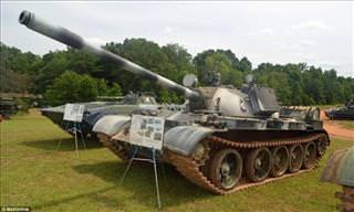 An Incredible Tank Collection