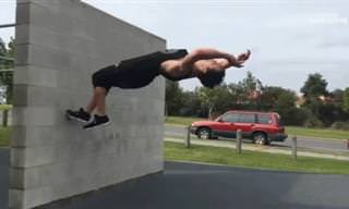 25 Incredible GIFs of Epic Moves Done By Parkour Experts