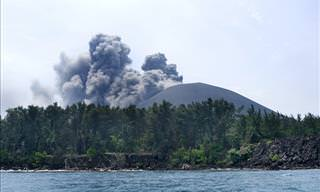 Just How Loud Was Krakatoa's Eruption?