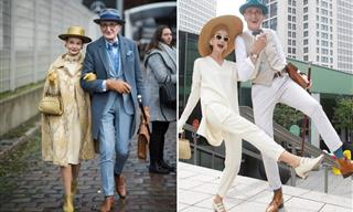Meet the Most Stylish Senior Couple