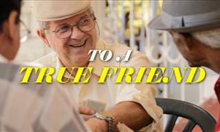 A Heart-Warming Message to a True Friend