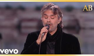This Andrea Bocelli Number Is a Must See For Music Lovers