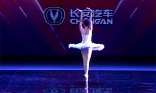 This Chinese Ballerina Combines Beautiful Dance and Magic