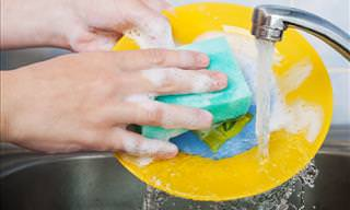 How to Effectively Kill Germs on Your Kitchen Sponge