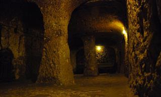 Visit Derinkuyu, a Secret Underground Refuge City in Cappadocia, Turkey