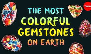 Where Did the World's Brightest Gemstones Get Their Color?