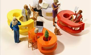 Miniature Worlds by Artist Tatsuya Tanaka