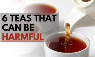 Avoid Overindulging in These 6 Teas
