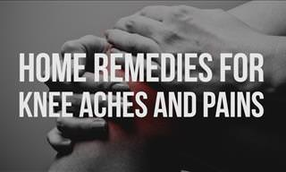 VIDEO: Home Remedies for Knee Aches and Pains