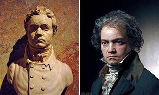 3D Artist Creates Amazingly Real Portraits of Famous Figures