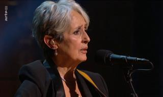 Watch the Evergreen Joan Baez Singing Forever Young