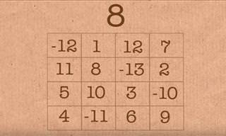 The Magic Square Party Trick