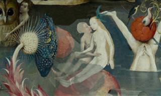 Animated Version of the Garden of Earthly Delights