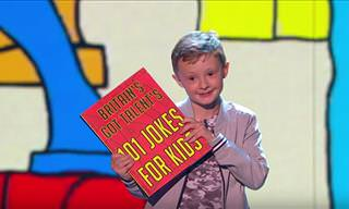 A Young and Cheeky Comedian on Britain's Got Talent