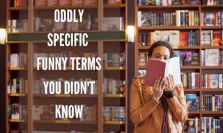 12 Oddly Specific and Often Funny Terms You Didn't Know