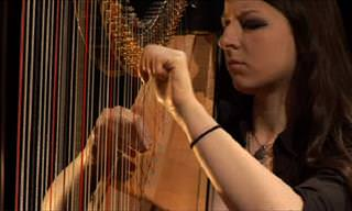 When a Guitarist and a Harpist Team Up, They Create Magic...