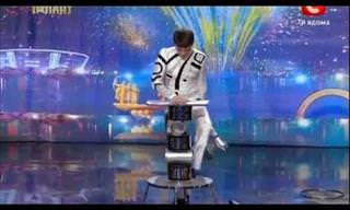 Unbelievable Acrobatic Balancing Act on Got Talent Global