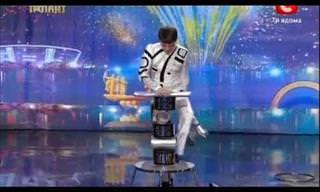 Unbelievable Acrobatic Balancing Act on Got Talent Global