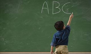 Hilarious: She's Got a Problem with Her ABCs!