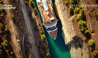 Why The Corinth Canal Is a True Engineering Marvel
