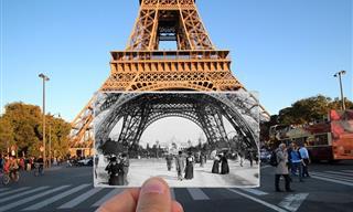 Juxtaposed Photos Explore the Past and Present of Paris