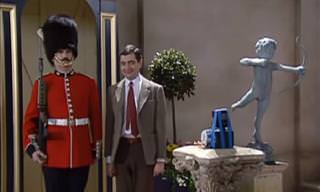 Mr. Bean Wants a Picture with One of the Queen's Guard...
