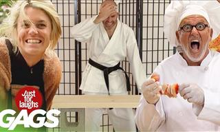"Prank-A-Thon: The Funniest ""Ouch!"" Pranks!"