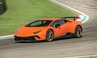 The Huracan Performante's Record-Breaking Lap