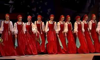 The Russian Ensemble Beryozka Dances