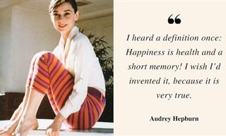 Audrey Hepburn - 16 Quotes on Love, Happiness and Optimism