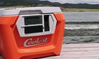 The Cooler That will Revolutionize How You Eat Outside
