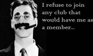 10 Terrific Quotes By Groucho Marx