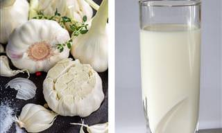 10 Benefits of Garlic Milk and How to Make It