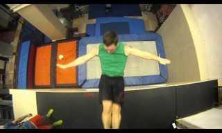 Christophe Hamel: Trampoline Master!