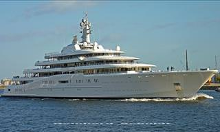 She's Huge! The 10 Largest Private Yachts In the World
