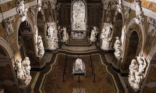 Stunning Marble Sculptures in Naples