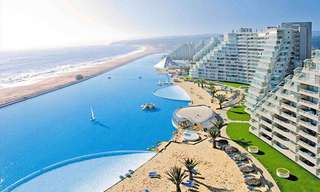 Behold, the Largest Swimming Pool in the World!