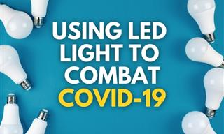 COVID-19 Breakthrough - LED Lights Eradicate the Virus
