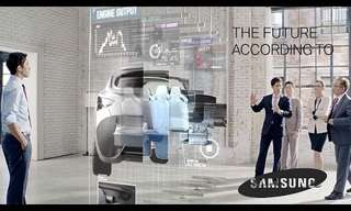 The Future According to Samsung - Wow!