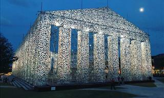 "The ""Parthenon of Books"" Is Unveiled"