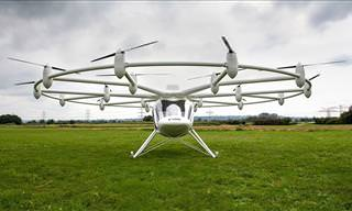 Volocopter's Flying Taxi Takes First Flight!