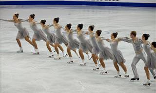 An Incredible Synchronized Skating Performance