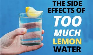 The Side Effects of Lemon Water and How Much Is Safe to Drink?