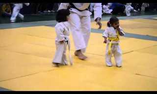 The Cutest Judo Fight in History. Especially the End.