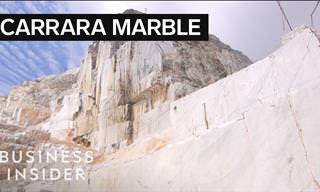 A Tour of the Carrara Marble Mountain of Italy