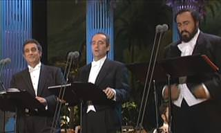 The Three Tenors Perform 'My Way'