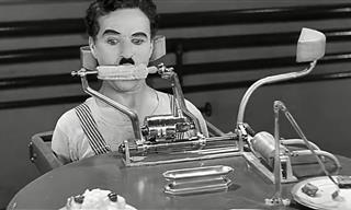 FUNNY: When a Food Machine Tried to Feed Charlie Chaplin