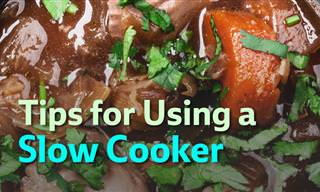 Top Tips for Using a Slow Cooker