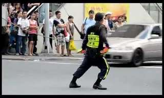 The Most Entertaining Traffic Cop in the World!