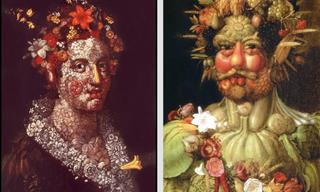Beautiful Fruit-Filled Portraits By Guiseppe Arcimboldo